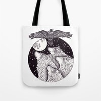 Catch The Moon Tote Bag
