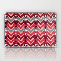 Fractal Mountains - candy Laptop & iPad Skin