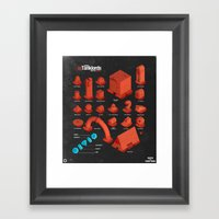 Super Tanklords Directory Vol. 1 Framed Art Print