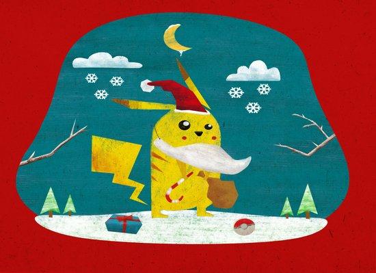 Santa Cover Art Print