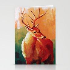 Deer Portrait Stationery Cards