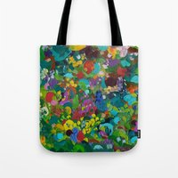 Flower Forest Tote Bag