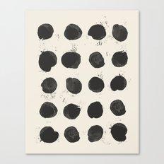 Two / Cream Canvas Print