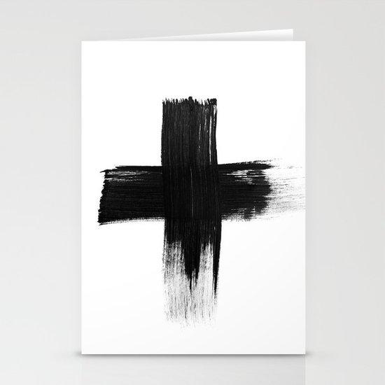 Cross Stationery Card