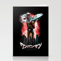 Saitama Is The Epic One … Stationery Cards