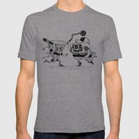 The Ultimate Fast Food F… Mens Fitted Tee Tri-Grey SMALL