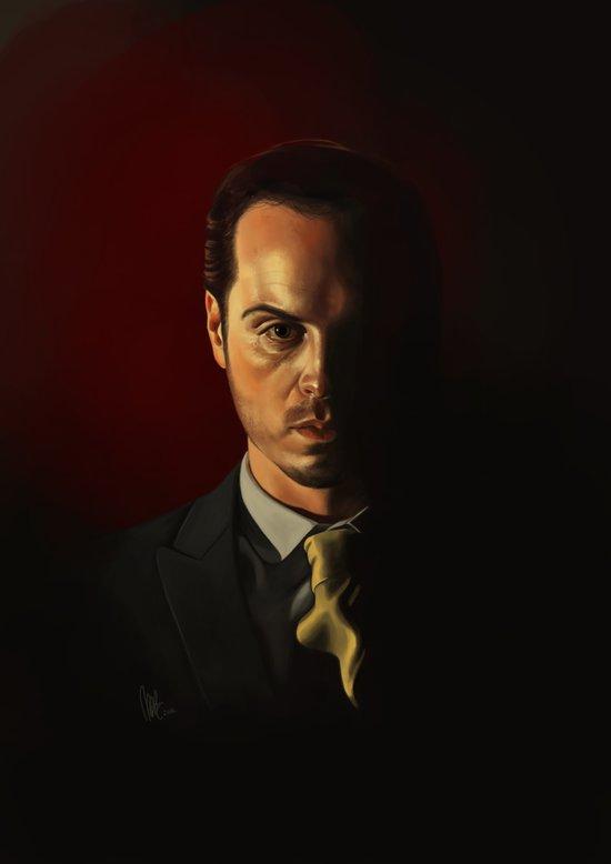 IOU - Sherlock Art Print