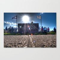 The Grave of Theodore Herzl #2 Canvas Print