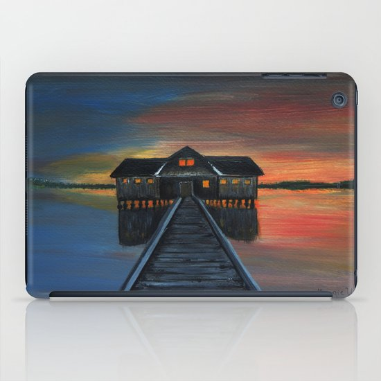 Old boat house  iPad Case