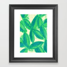 Viridis Framed Art Print