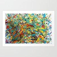 Conscious Chaos Art Print