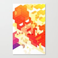 Geometric Hero 3 Canvas Print
