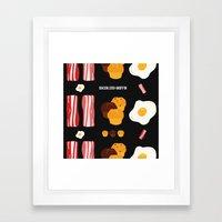 Bacon, Egg & Muffin!! -D… Framed Art Print