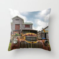Time Gone By..... Throw Pillow