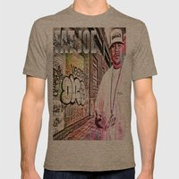 Street Phenomenon Fat Joe Mens Fitted Tee Tri-Coffee SMALL