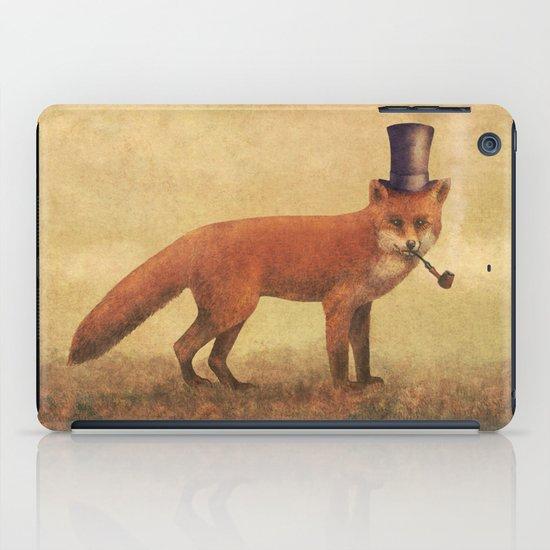Crazy Like a Fox  iPad Case