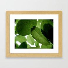 It Ain't Easy Being Green Framed Art Print