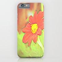 positve negative pop daisy ~ flower Warholia iPhone 6 Slim Case