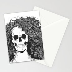 SKull GIrls 2 - Sea Navy Stationery Cards