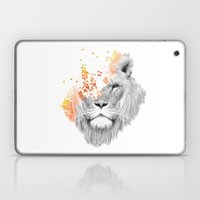 If I roar (The King Lion) Laptop & iPad Skin