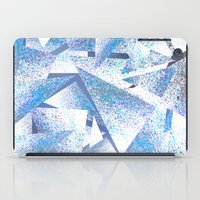 shattered sparkly ice iPad Case