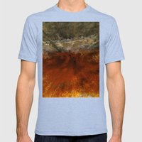 Bird's Eye view Mens Fitted Tee Tri-Blue SMALL