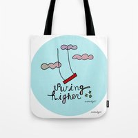 Swing HIGHER  Tote Bag