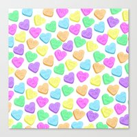 I HATE Valentines Day  Canvas Print