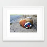 Drive safe Framed Art Print