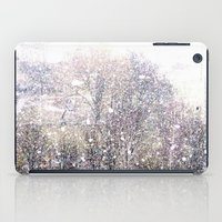 Snow in early fall(1)  iPad Case