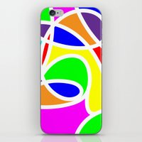 Loops Color iPhone & iPod Skin