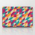 Triangles Pattern iPad Case