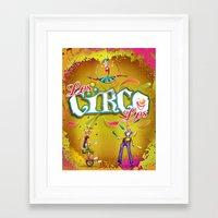 Los Circo Los - LMW Trio Framed Art Print