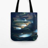 Water Abstract H2O #62 Tote Bag