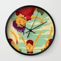 Tapete Voador Wall Clock