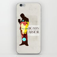 Suit of Armor : Iron Man iPhone & iPod Skin