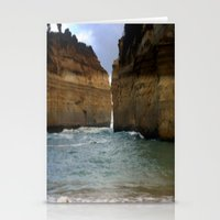 Two Giants On A Collisio… Stationery Cards