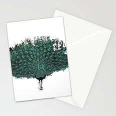 Peacock -blue Stationery Cards