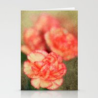 Concrete Carnation Stationery Cards