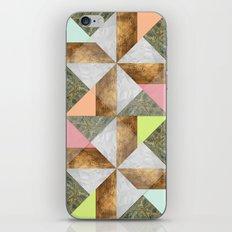 Pinwheel iPhone & iPod Skin