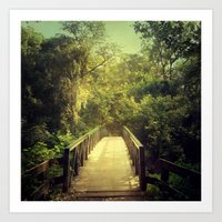 The Journey Starts With … Art Print