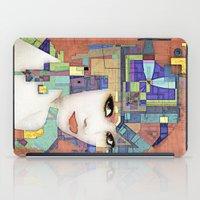 Nouveau Girl 2 (aged finish) iPad Case
