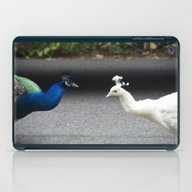 Mirror Image In Blue And… iPad Case