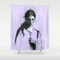 Cloaked Shower Curtain