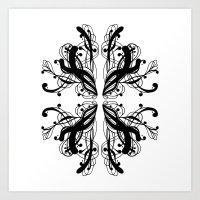Pattern 6 Art Print