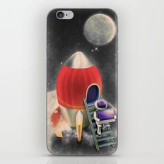 Rocketship Goes By iPhone & iPod Skin