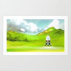Launch Art Print