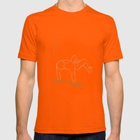 Galvanico 03 Mens Fitted Tee Orange SMALL