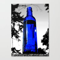 Liquid Skyy Canvas Print