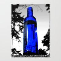 Liquid Skyy Canvas Print